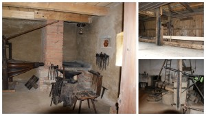Valašské muzeum  kovárna, pila