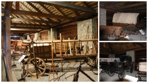 Valašské muzeum povozy